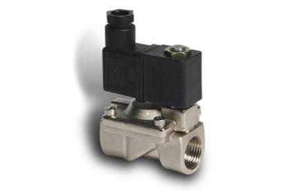 Electroválvula Inox + conector
