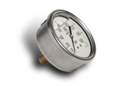 Manómetro axial 1/4 25 bar