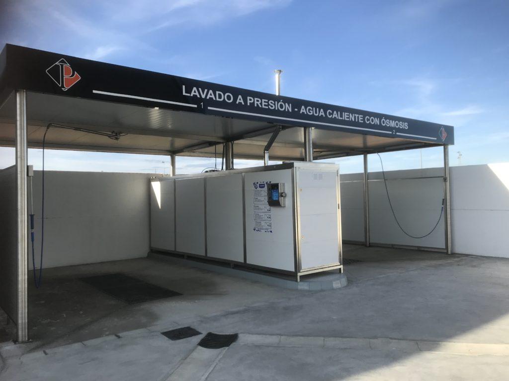 Centro de lavado en la provincia de Sevilla